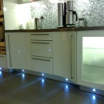 Kitchen flooring lighting