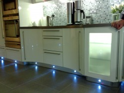 Kitchen flooring lighting