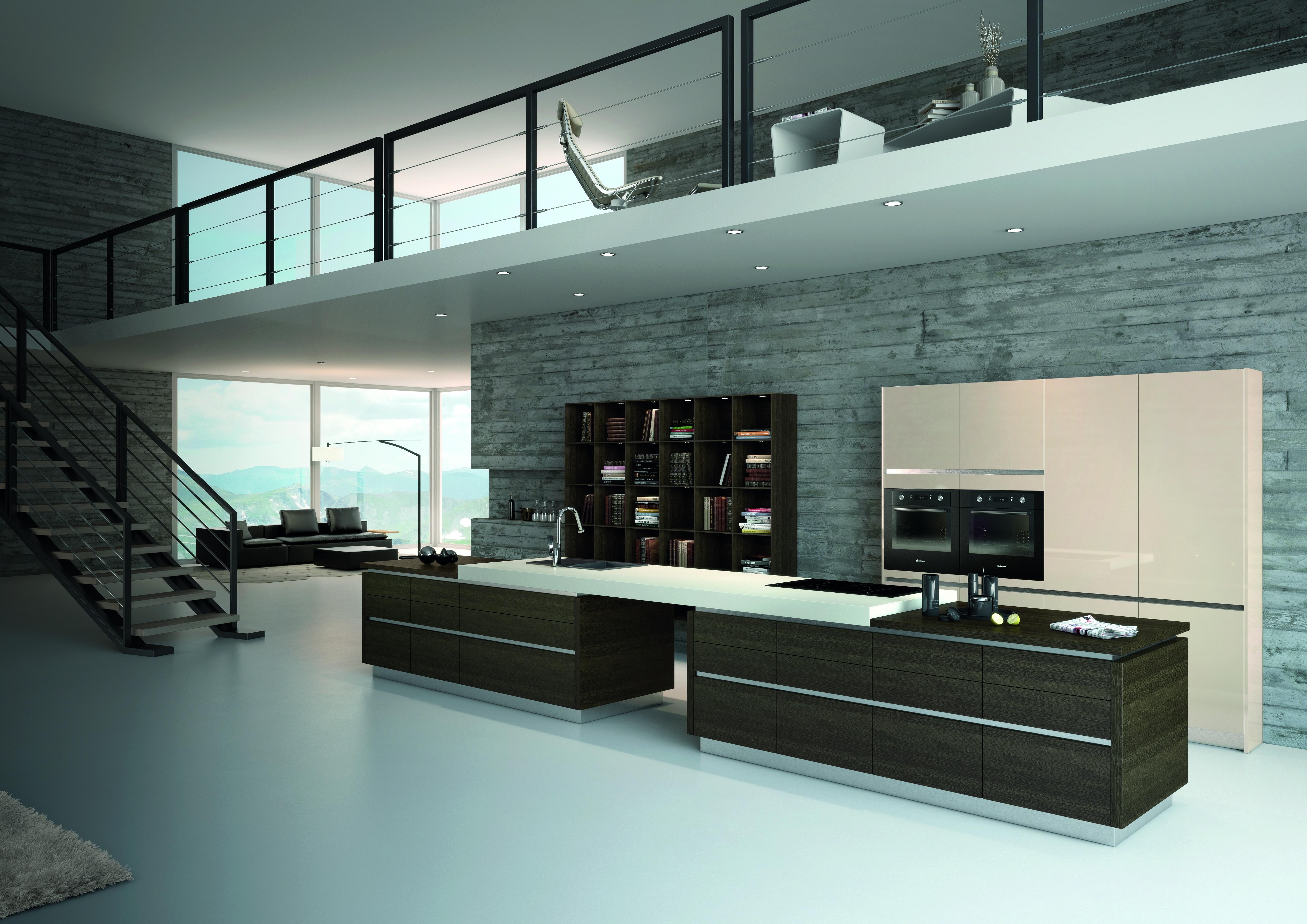 KENO RINO Eiche Wenge kitchen